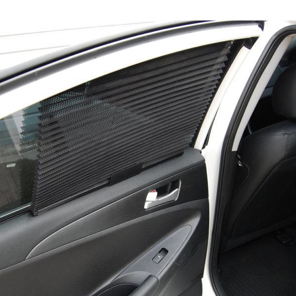 차량용 블라인드 햇빛가리개2p자바라 폴딩썬쉐이드YKM