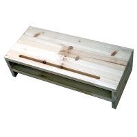 삼나무 모니터받침대 2단/완성품발송/사이즈변경가능