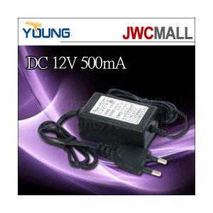 아답터 TY-604 DC12V/500mA 110/220V free volt