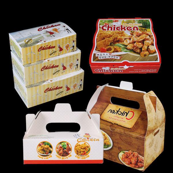 치킨박스/치킨상자/통닭박스/치킨포장지/배달박스