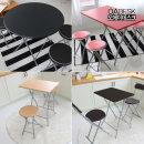 접이식테이블/식탁/티테이블/학원/간이보조의자/사각