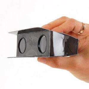 확트인시야 종이망원경(1+1) 돋보기 확대경 망원경