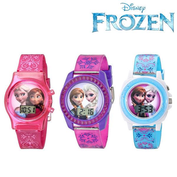 해외/디즈니 겨울왕국 손목 시계/전자 시계/캐릭터