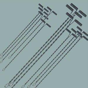 T형 천평 5-20cm/철사/갈치 장어 원투 낚시 자작 채비
