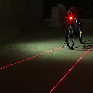 2way 레이저 자전거 안전등 싸이클 MTB 안전등 안장