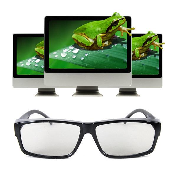 TV시청용 3D 편광안경 3D안경 3D TV 모니터 노트북