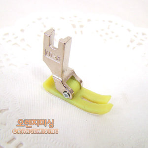 (오렌지미싱) MT-18 PVC 플라스틱 노루발 본봉 공업용