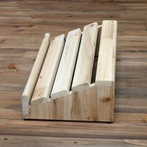 삼나무 원목 발받침대 와이드 사이즈 완성품발송