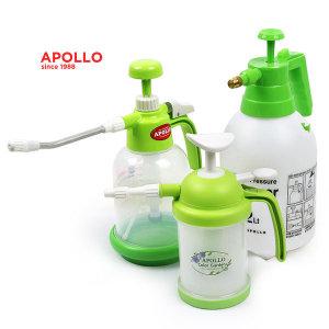 아폴로 압축분무기 500ml~4L 분무기 물조루 원예용품