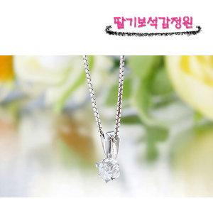 당일발송 예쁜 5부 다이아몬드 목걸이