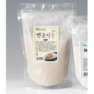 친환경 연꽃마을 연근가루(1kg)/연근분말 무농약인증