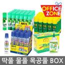 正(BOX)박스 1갑 아모스 딱풀 목공풀 물풀 투명풀 35g
