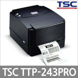 TSC TTP-243 Pro 저렴하고 강력한 바코드라벨프린터