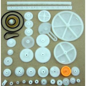 P68 34종 플라스틱 기어 세트 DIY 조립