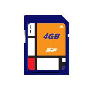 구형 내비게이션 단말기용 SD 4G(지니/맵피 완벽호환)
