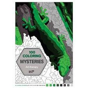 100 Coloring Mysteries: Art-therapy
