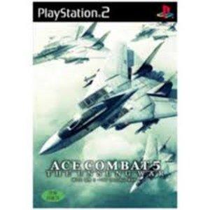 PS2 에이스 컴뱃 5 정식발매판 중고