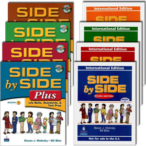 Side by Side (3E) / Side by Side Plus (3E) 1.2.3.4 Student Book/Activity Workbook 선택가능