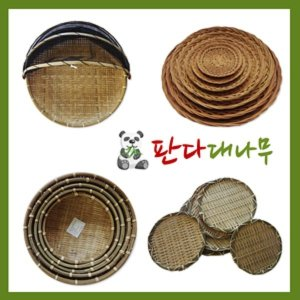 대나무/채반/소쿠리/망사/바구니/원형/사각/싸리채반
