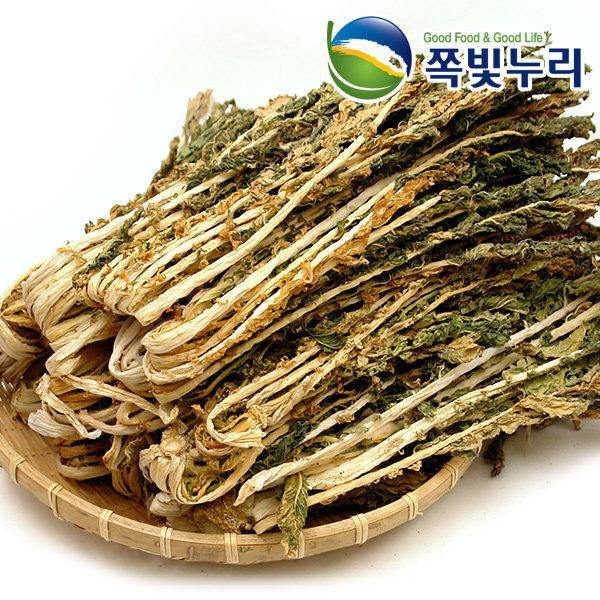 [쪽빛누리] 국산 무청시래기 시래기 길쭉한 단무지무청 건나물