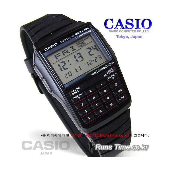 카시오 연애인시계 데이터뱅크 계산기 DBC-32-1ADF