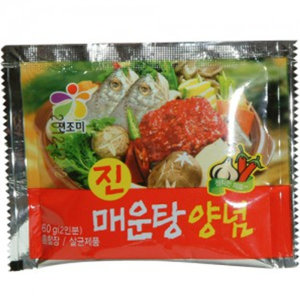 매운탕 양념 60g 진조미식품 매운탕 찌개