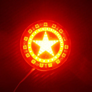 12V 2WAY 스타 LED 보조브레이크등