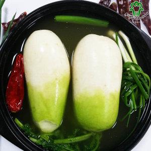 여수사나이 동치미1kg /당일생산/특가판매/김치