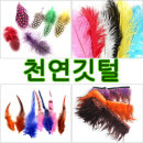 깃털/깃털재료 /천연깃털/새깃털/꿩털/밍크털/토끼털