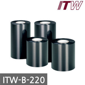 ITW-B220 왁스리본 110mm x 300M