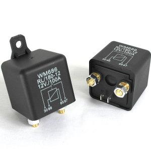 릴레이 100A 200A 12v 24v 보조배터리 방전방지