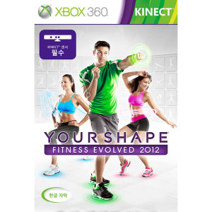(XBOX360) 유어쉐이프 피트니스 이볼브드 2012 (번들)