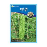 여주씨앗 10립 - 장타원형 대과종여주씨