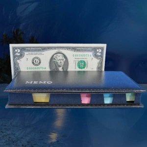 C319/2달러/행운의2달러/메모지/포스트잇/2달러지폐