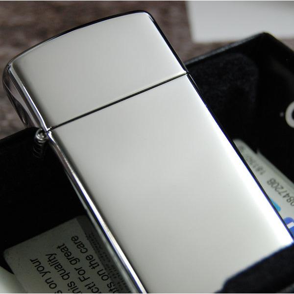 1610 High Polish Chrome Slim 지포라이터/당일발송
