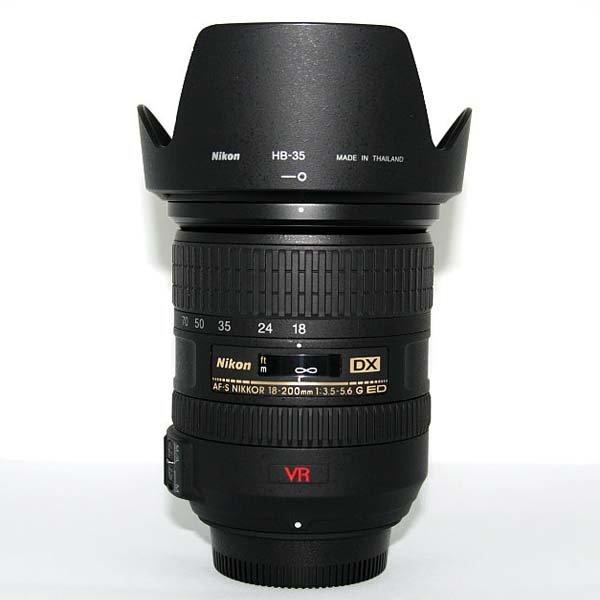 니콘 AF-S DX VR NIKKOR ED 18-200mm F3.5-5.6G IF