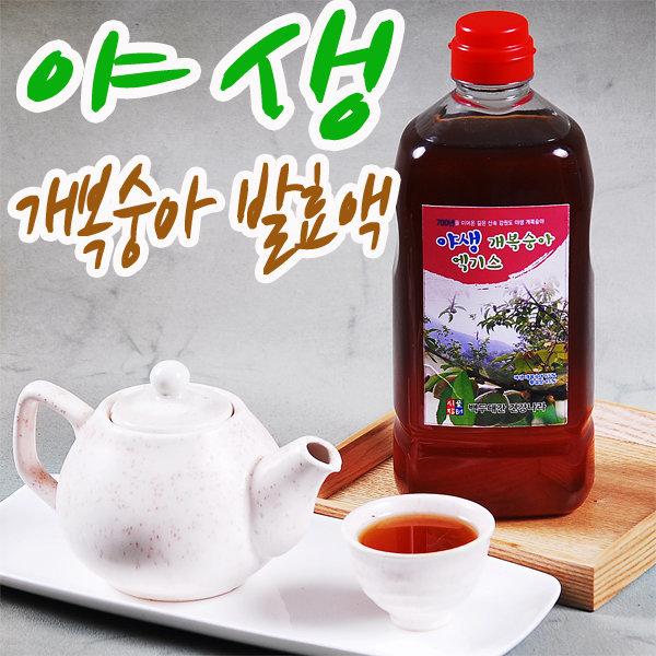 야생 개복숭아 엑기스 900ml 발효액 개복숭아즙
