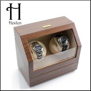 하이덴 프리미어 더블 와치와인더 HD010-Walnut Wood