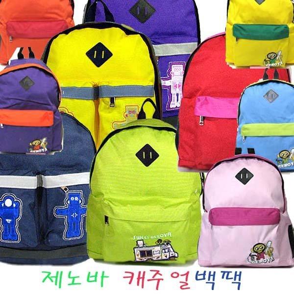 늘푸른백화점 제노바 SJ0187 소풍 캐주얼백팩 책가방