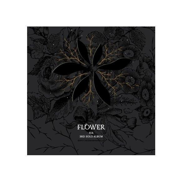 (포스터무료증정)/3월4일 발매/ 준수(XIA) 3집 - Flower/