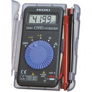 HIOKI/3244-60/카드형 전압 저항 도통 멀티메타