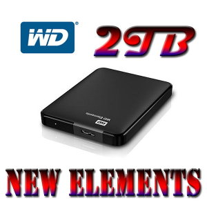 +WD파우치증정+ WD New Elements Portable 2TB MOD