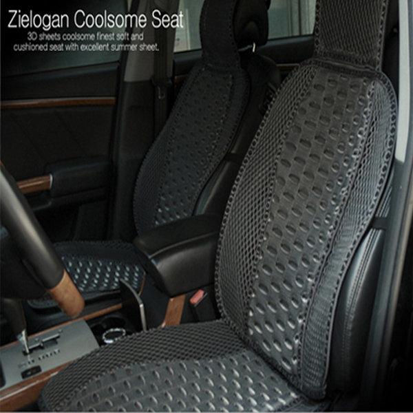 메시원단 자동차 의자용 쿨썸 여름 카시트 시트 커버