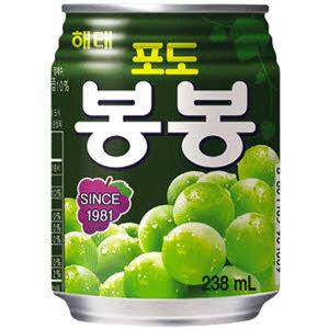 해태 포도 봉봉 238ml 24캔 캔음료 음료수