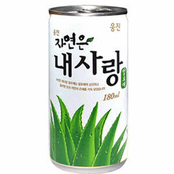 [웅진] 웅진 내사랑 알로에 180ml 30캔/ 토마토 음료수