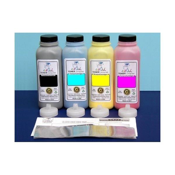 InkOwl - 4-Color Laser Toner Refill Kit for KON...