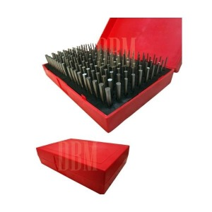 190 PC Plug Steel Metal Pin Gage Gauge M1 .061-...