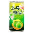 웅진 초록매실 180ml(30캔)/ 청량음료 캔음료 음료