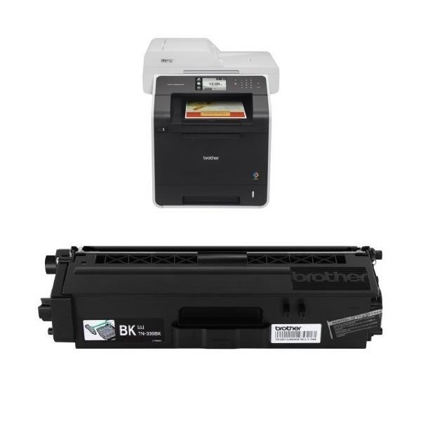 Brother MFC-L8850CDW Wireless Color Laser Print...