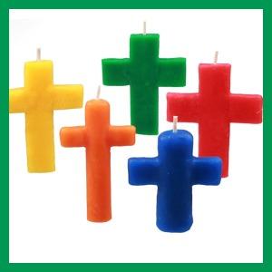 양초만들기/십자가 30개/이야코/만들기재료/칼라폼